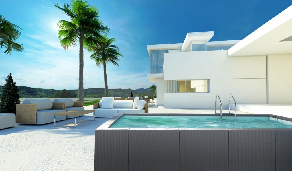 Dolce Vita: las piscinas Laghetto de diseño italiano que encajan a la perfección con tu jardín